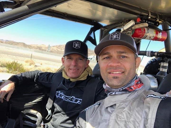 Jody (Left) and Josh (Right) ready to roll in the 2019 Mint 400