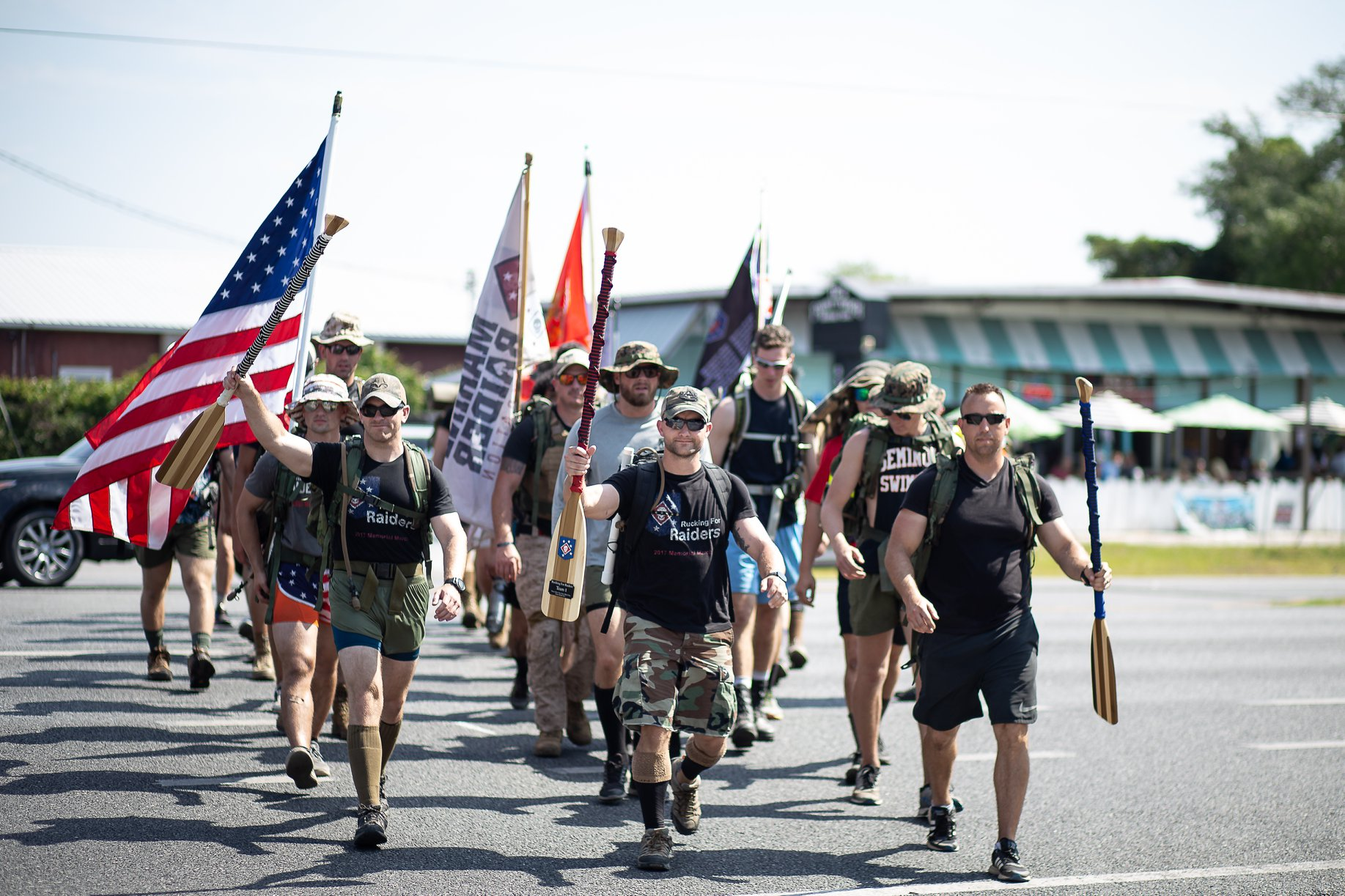 4th Annual Rucking For Raiders Memorial March